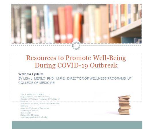 COVID-19 wellness